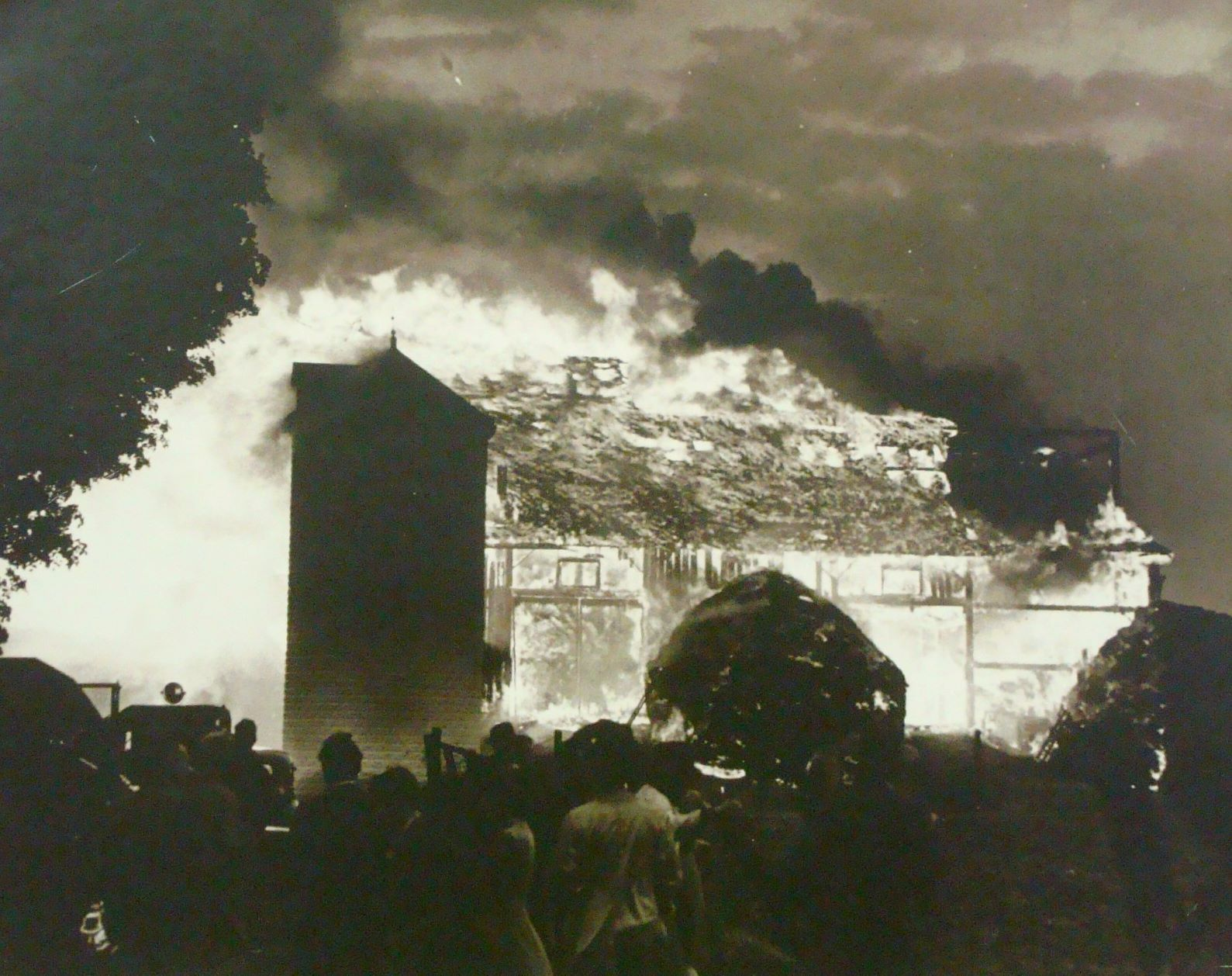 Fire at the Hamilton Insane Asylum 1911