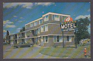 Four Sisters Motel Sudbury Postcard
