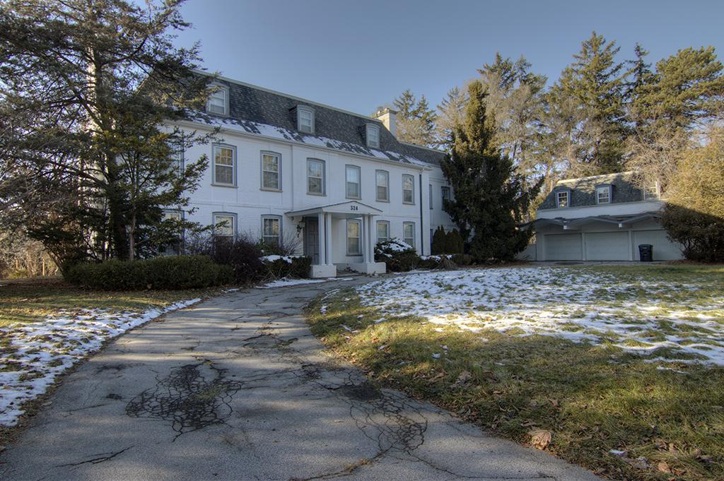 abandond Toronto mansion